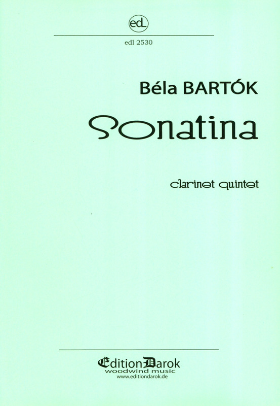 Sonatina(1915)para clarinete. BelaBartok