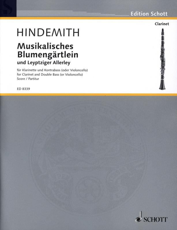 MusikalischesBlumengärtleinundLeyptzigerAllerley(1927) Paul Hindemith