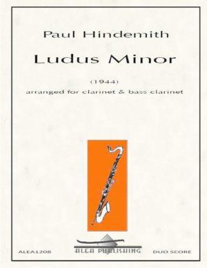 LudusMinor(1944)para violonchelo y clarinete. Paul Hindemith