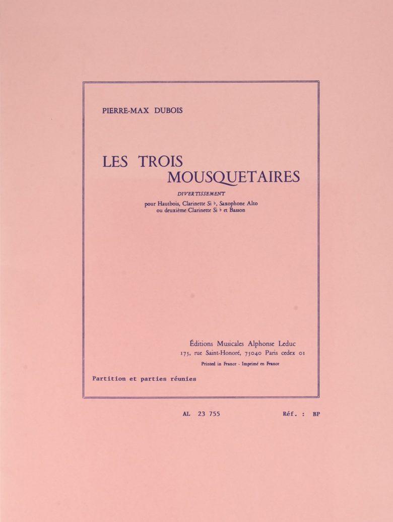 LesTroisMousquetaires. PierreMax Dubois