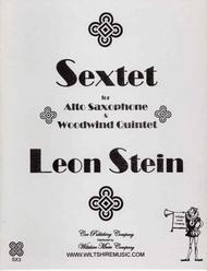 SextetfürAltsaxophon. Leon Stein
