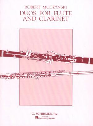 Duosop.24(1984)para flauta y clarinete. Robert Muczynski