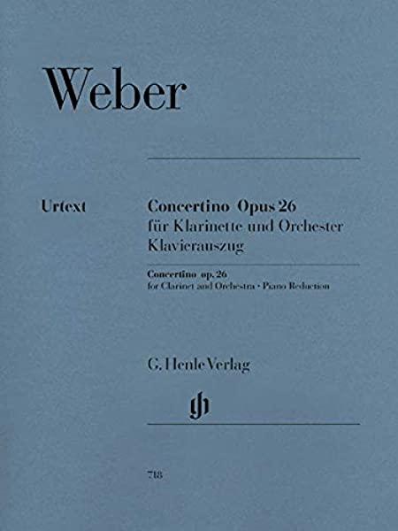 Concertinoop.26para clarinete solo. CarlMariavonWeber