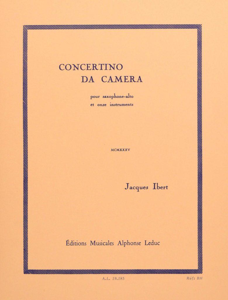 ConcertinodaCamera. JacquesIbert