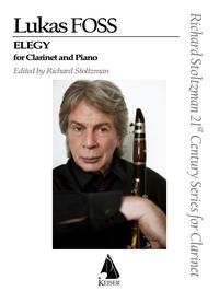 Elegie(1949)para clarinete y piano. LukasFoss