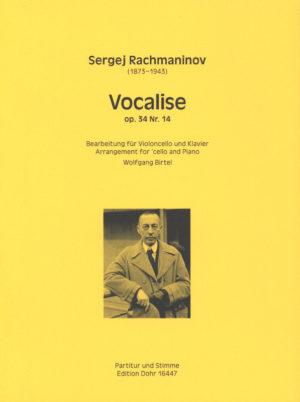 Vocaliseop.34No.14para saxofón soprano y piano. SergeiRachmaninoff