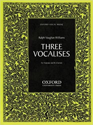 ThreeVocalises(1958). Ralph Vaughan-Williams