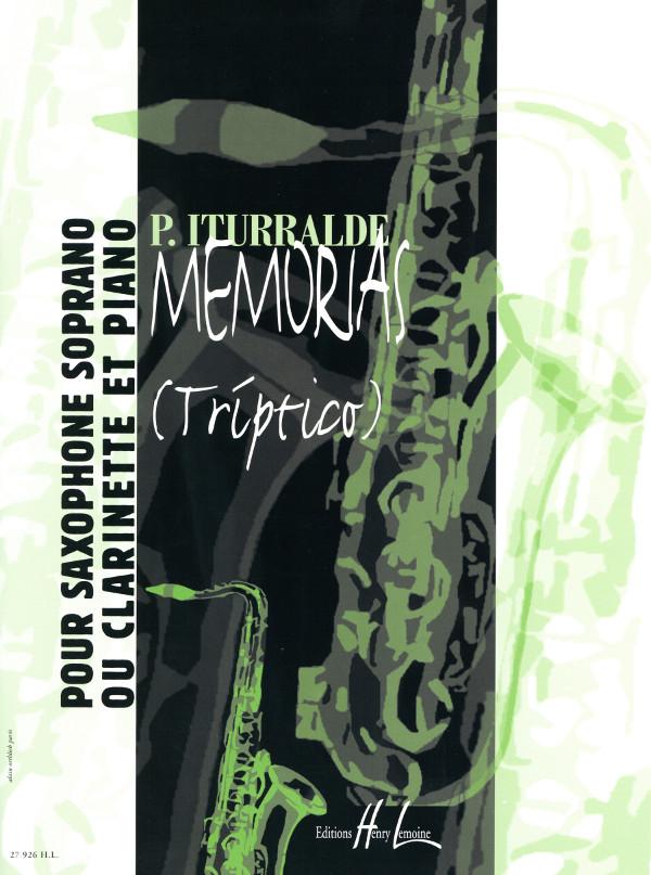 Memorias(Triptico)(2004) Pedro Iturralde