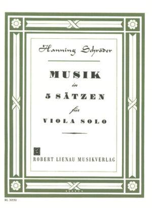 Musik. Hanning Schroeder