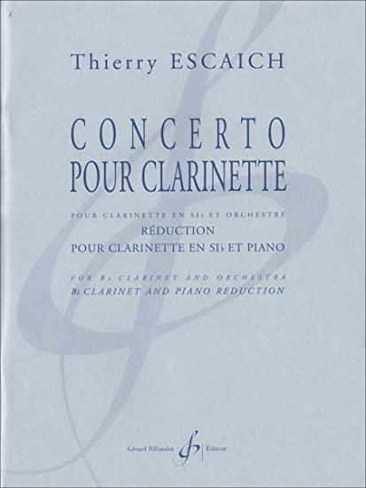 ConcertopourClarinette(2012) Thierry Escaich
