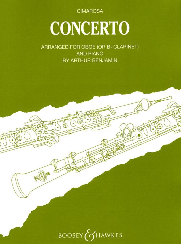 Concertopara saxofón soprano solo. DomenicoCimarosa
