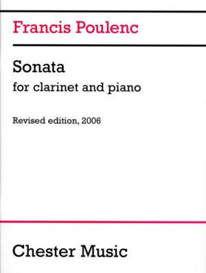 Sonata-Sonate(1922) para clarinete. Francis Poulenc