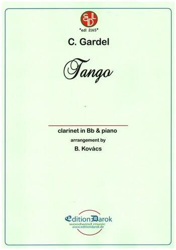 TangoPorunaCabezapara clarinete y piano. CarlosGardel