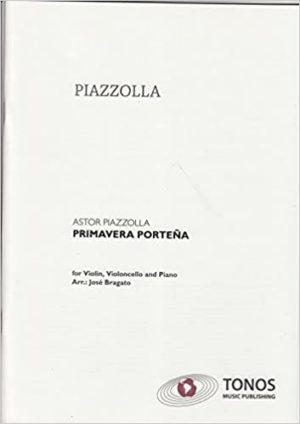 PrimaveraPortena para clarinete. AstorPiazzolla