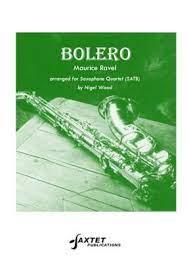 Bolero para saxofón.MauriceRavel