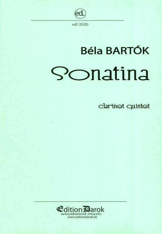 Sonatina(1915)para clarinete y piano. BelaBartok