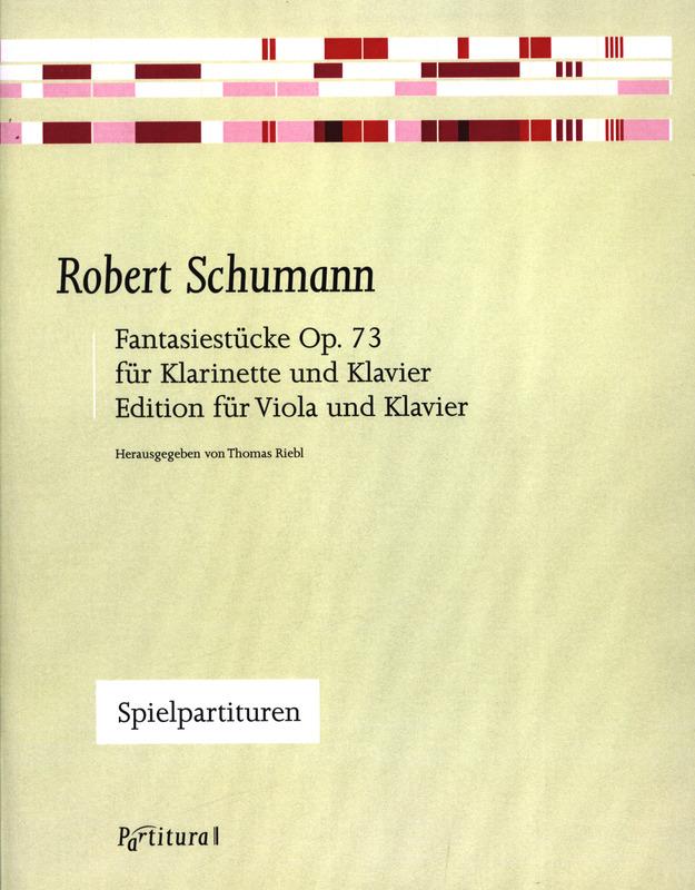 Fantasiestückeop.73para clarinete y piano. RobertSchumann