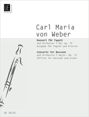 Concertoop.75para clarinete bajo. CarlMariavonWeber