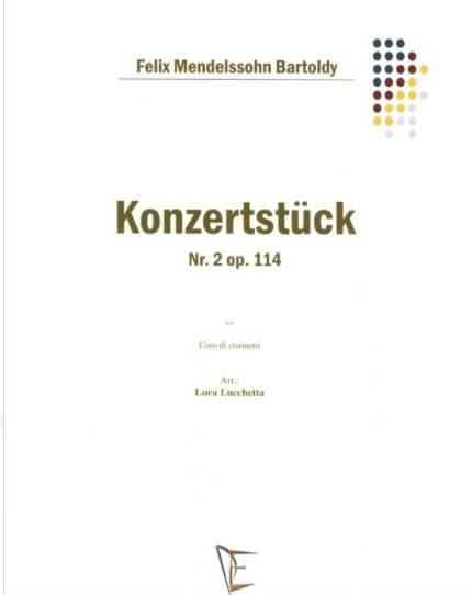 KonzertstückNo.2ind-mollop.114para clarinete. FelixMendelssohn-Bartholdy