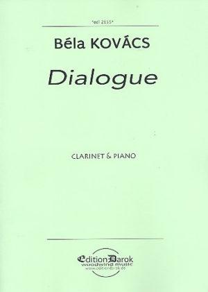 Dialogue(2016)para clarinete y piano. Bela Kovacs