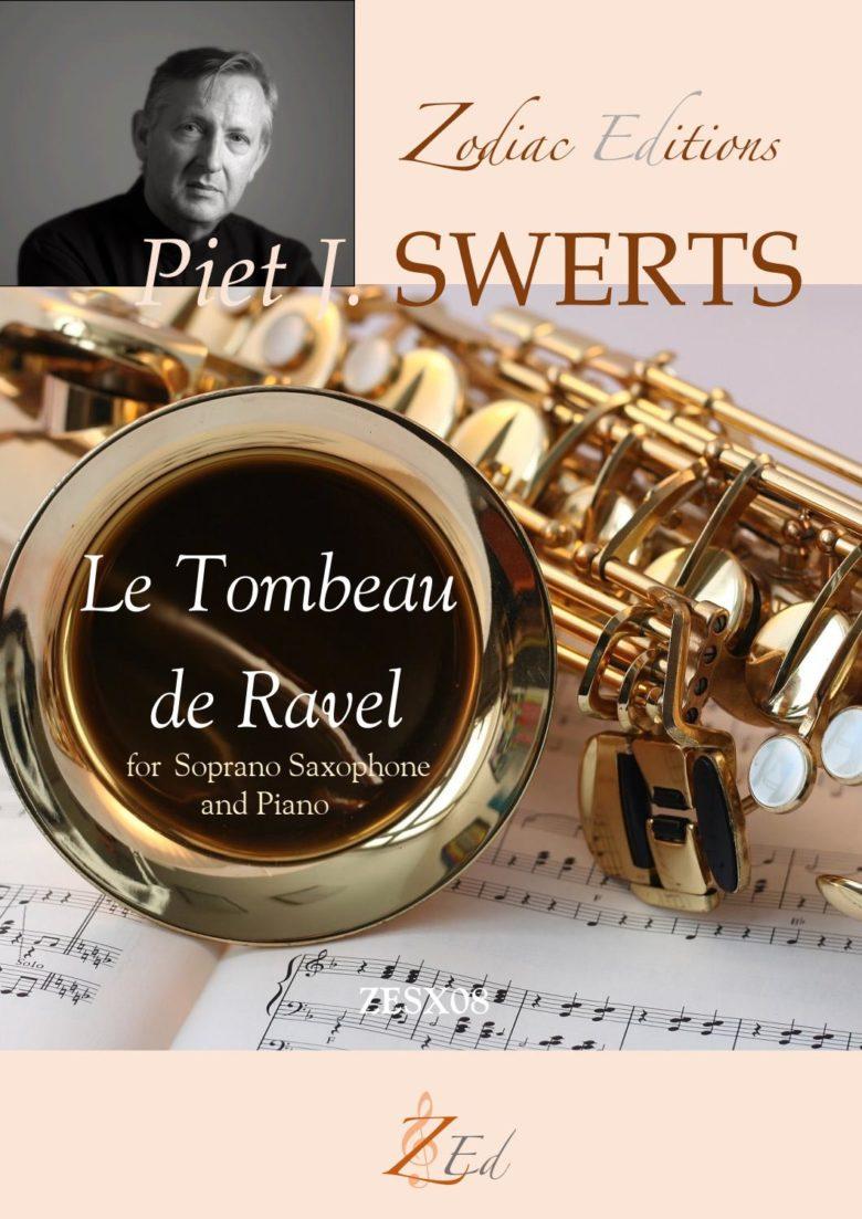 LeTombeaudeRavel(2009) para saxofón soprano y piano. PietJozef Swerts