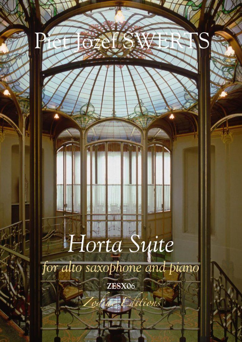 HortaSuite(2018)para saxofón alto y piano. PietJozef Swerts