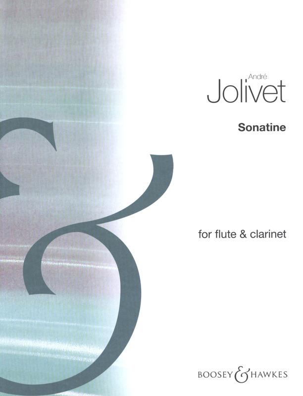 Sonatine(1961)para flauta y clarinete. Andre Jolivet