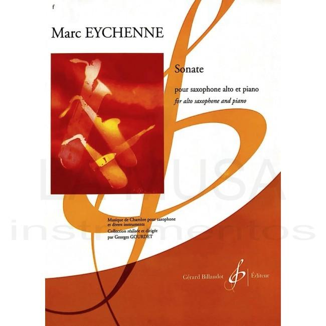 Sonatepara clarinete bajo y piano.Marc Eychenne