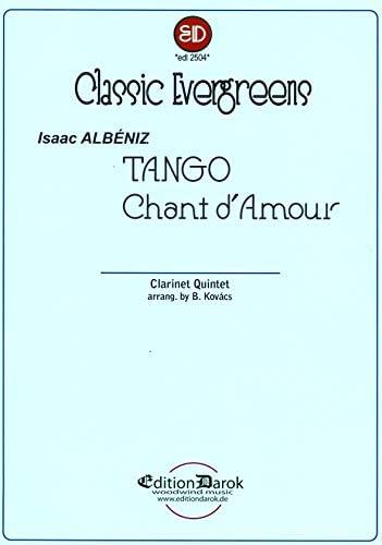 TangoundChantd'Amourpara clarinete. IsaacAlbeniz