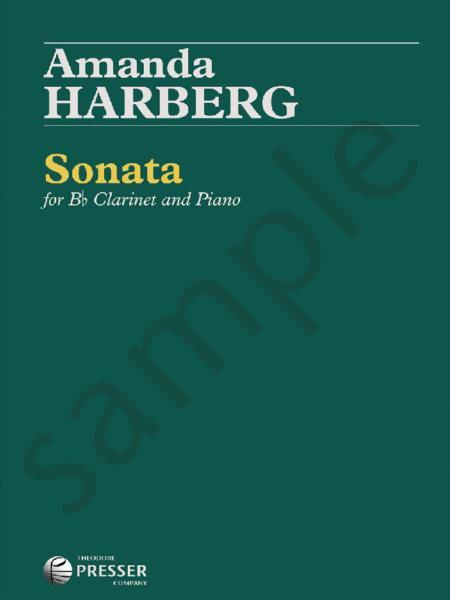 Sonata(2016)para clarinete y piano.Amanda Harberg