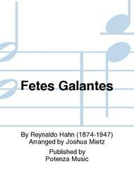 FetesGalantespara clarinete y piano. ReynaldoHahn