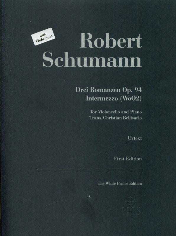 DreiRomanzenop.94para saxofón barítono y piano.RobertSchumann