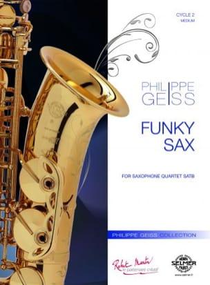FunkySax(2015)para saxofón alto y piano. Philippe Geiss