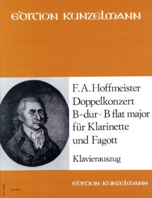 DoppelkonzertinB-Durpara clarinete, fagot y orquesta. FranzAntonHoffmeister