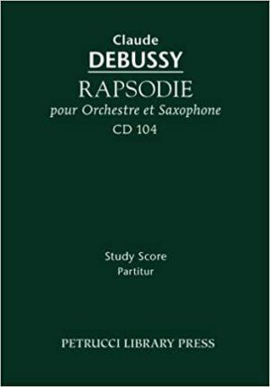 Rapsodie(1903) Claude Debussy