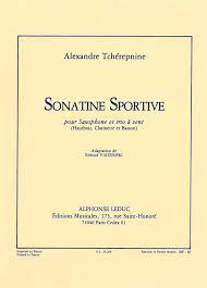 SonatineSportive. AlexanderTcherepnine