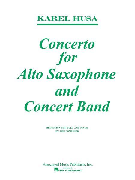 ConcertoforAlto-SaxophoneandConcert-Band. Karel Husa