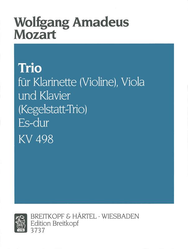 TrioinEs-DurKV498. WolfgangAmadeus Mozart
