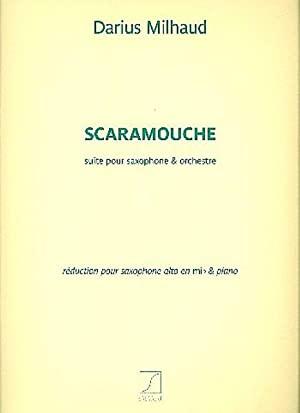 Scaramouche(1937)para saxofón alto. DariusMilhaud