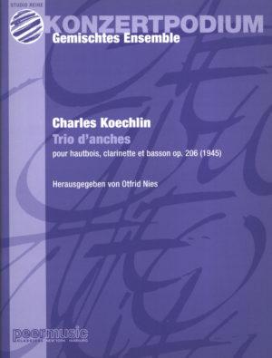 Triod'Anchesop.206(1945)para oboe, clarinete, fagot. CharlesKoechlin