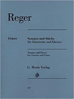 SonatenundStückepara clarinete y piano. MaxReger