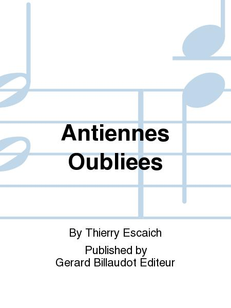 AntiennesOubliees(1989) Thierry Escaich