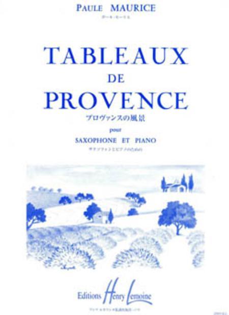 TableauxdeProvence,Suite(1948/55)para saxo alto. PaulMaurice