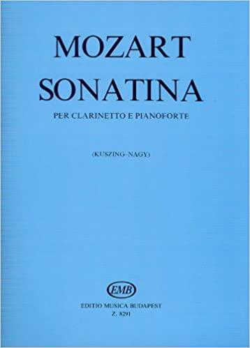 Sonatinapara clarinete y piano. WolfgangAmadeusMozart