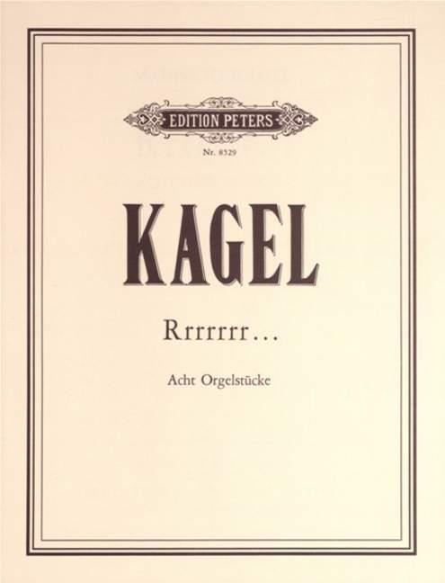 Rrrrrrr...,5Jazzstücke. Mauricio Kagel