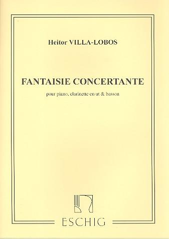 FantaisieConcertante(1953)para clarinete en C, fagot y piano. Heitor Villa-Lobos