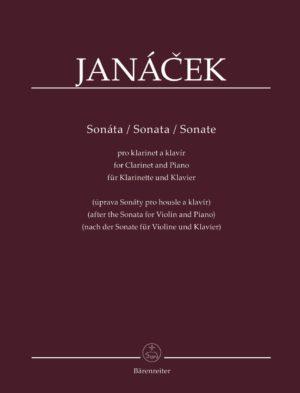 Sonatapara clarinete y piano basado en la Sonata para violín y piano. LeosJanacek