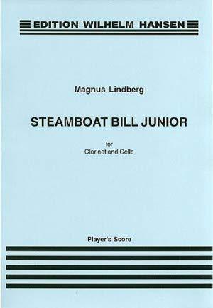 SteamboatBillJunior(1990)para clarinete y violonchelo. Magnus Lindberg