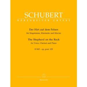 DerHirtaufdemFelsenop.post.129D965para clarinete. Franz Schubert
