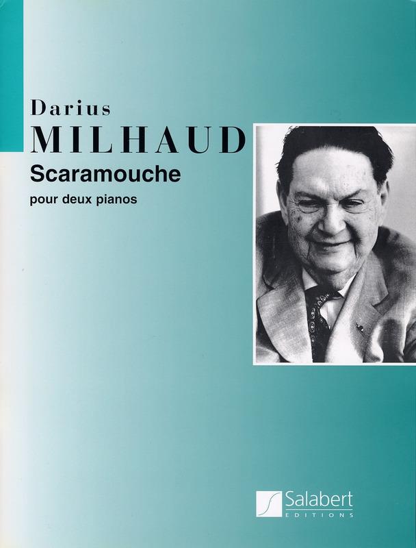 Scaramouche(1937) para saxofón alto solo. DariusMilhaud
